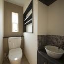 ツイン・シェイプス 「2世帯住宅」の写真 2階トイレ