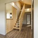 ベイジン・ストリート・ブルース 「ジャズをこよなく愛するオーナーの家」の写真 ロフトへ上がる固定階段