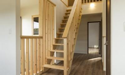 ベイジン・ストリート・ブルース 「ジャズをこよなく愛するオーナーの家」 (ロフトへ上がる固定階段)