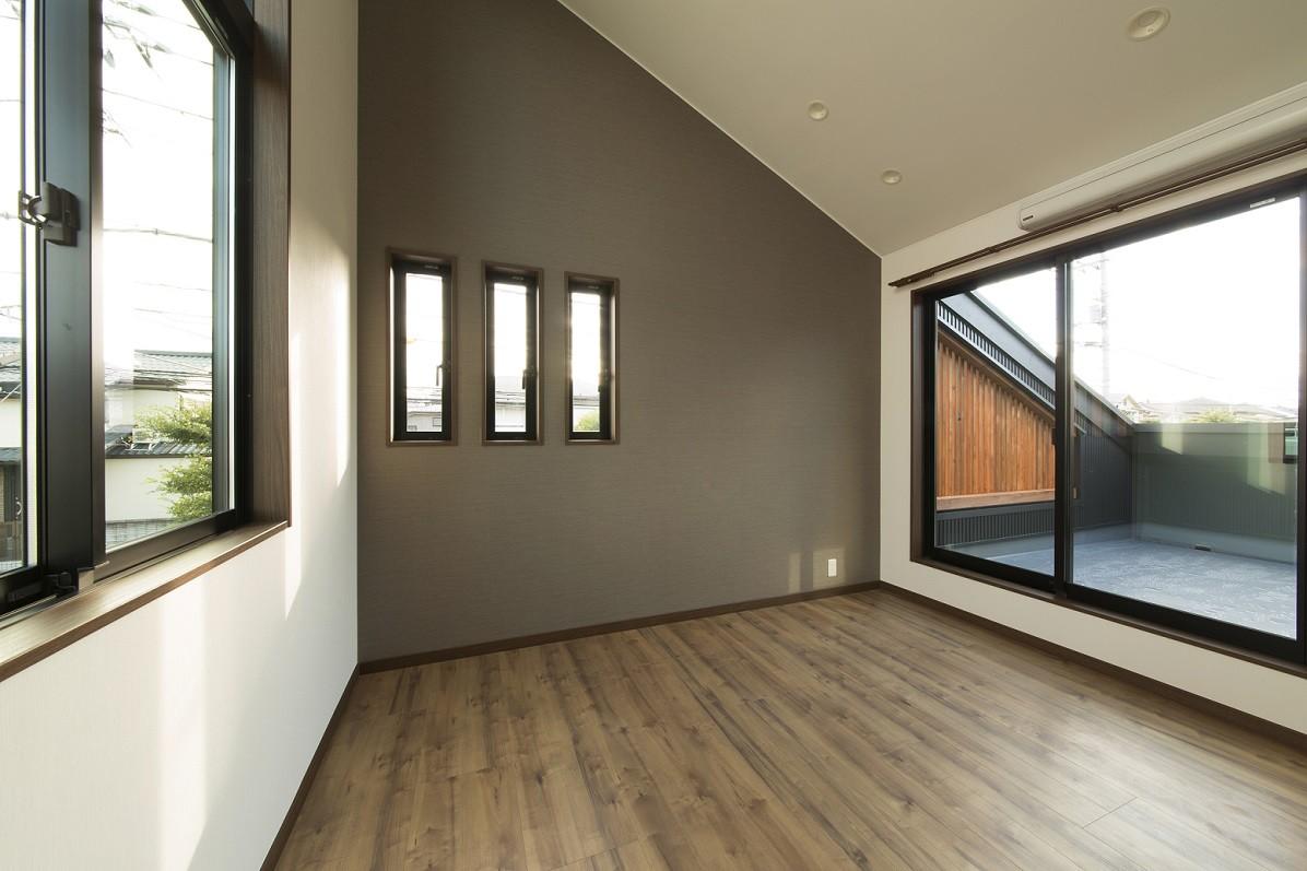 ベッドルーム事例:寝室(ベイジン・ストリート・ブルース 「ジャズをこよなく愛するオーナーの家」)