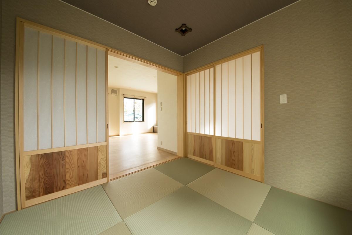 その他事例:1階和室(ベイジン・ストリート・ブルース 「ジャズをこよなく愛するオーナーの家」)