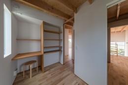 カドニワの家 ー内と外が緩やかにつながった「空間グラデーション」ー (小さな子供部屋)