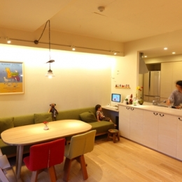 totto house (リビングダイニングキッチン)