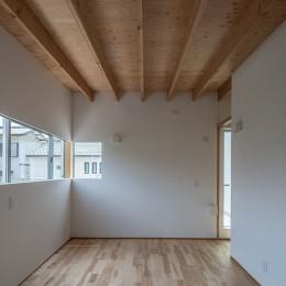 カドニワの家 ー内と外が緩やかにつながった「空間グラデーション」ー (大きな子供部屋)