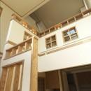 ナチュラルテイスト 高気密・高断熱の家の写真 階段室