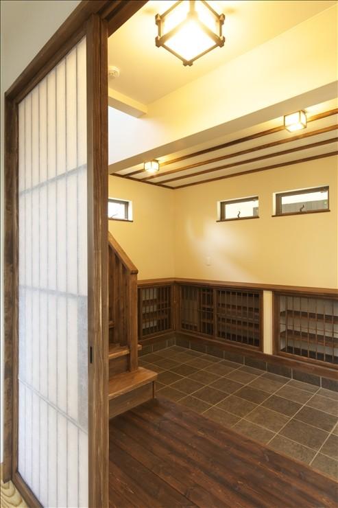 和楽3層住宅 (玄関ホール)