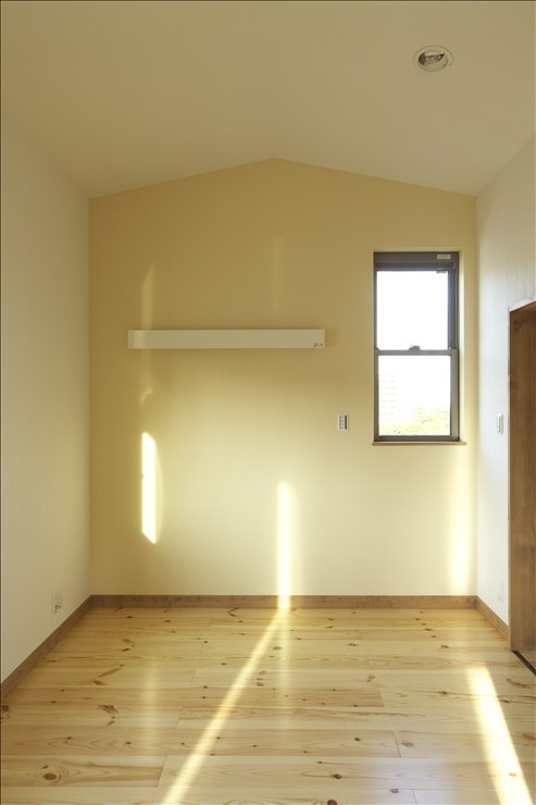 ベッドルーム事例:主寝室(和楽3層住宅)