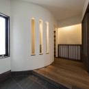 ご両親のためのコートハウス 「平屋+α」の写真 玄関ホール