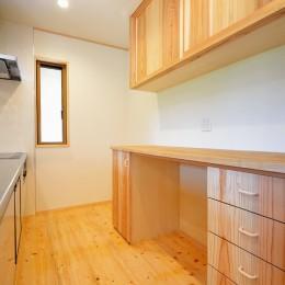 HUFUプラスワン/ローコストで建てる規格型の木の家 (キッチン)