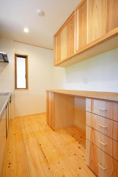 キッチン (HUFUプラスワン/ローコストで建てる規格型の木の家)