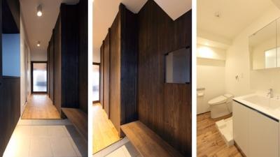 re-apartment/kos (玄関・水廻り)