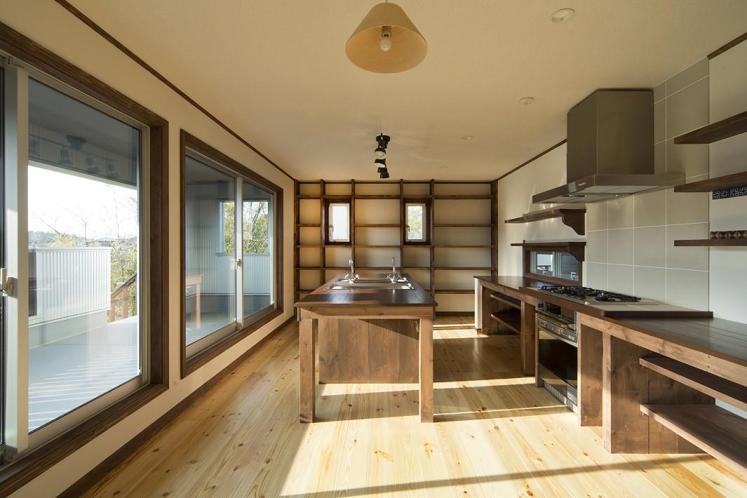 キッチン事例:キッチン(セブンステップス・トゥ・ヘブン 「我孫子駅徒歩圏内・充実のスローライフ」)