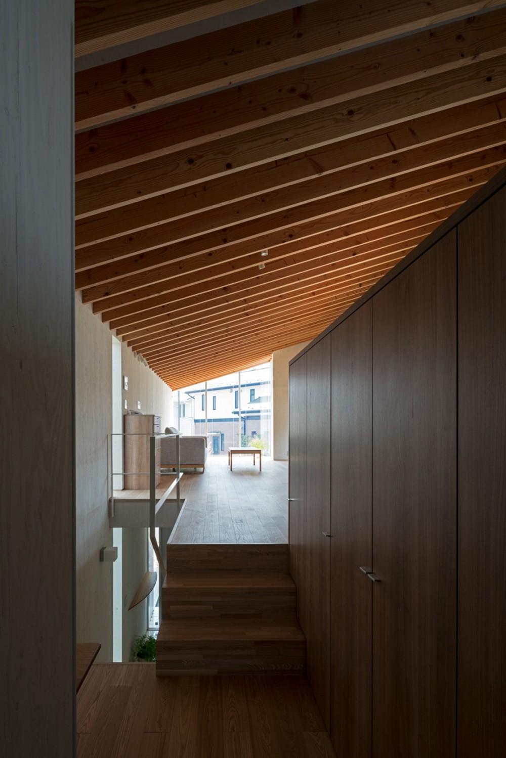 赤堤の家 (廊下・階段)