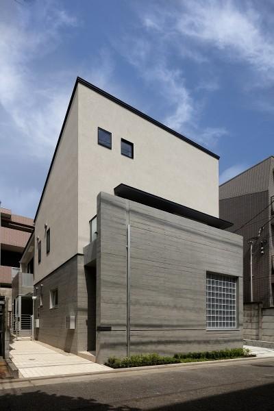外観 (小規模デザイナーズアパートメント|三茶の集住)