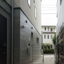 小規模デザイナーズアパートメント|三茶の集住の写真 1階外部通路