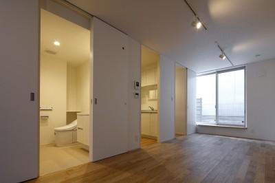 内部 (小規模デザイナーズアパートメント|三茶の集住)