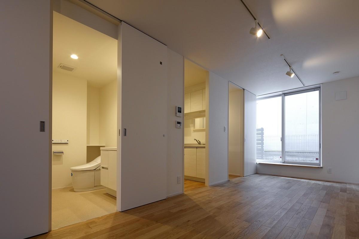 その他事例:内部(小規模デザイナーズアパートメント|三茶の集住)