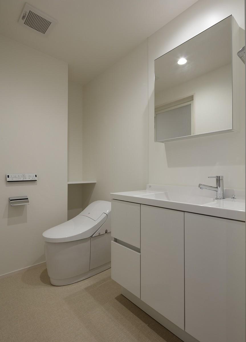 小規模デザイナーズアパートメント|三茶の集住 (水廻り)