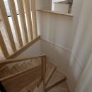 小規模デザイナーズアパートメント|三茶の集住の写真 階段