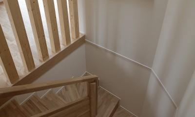 小規模デザイナーズアパートメント|三茶の集住 (階段)
