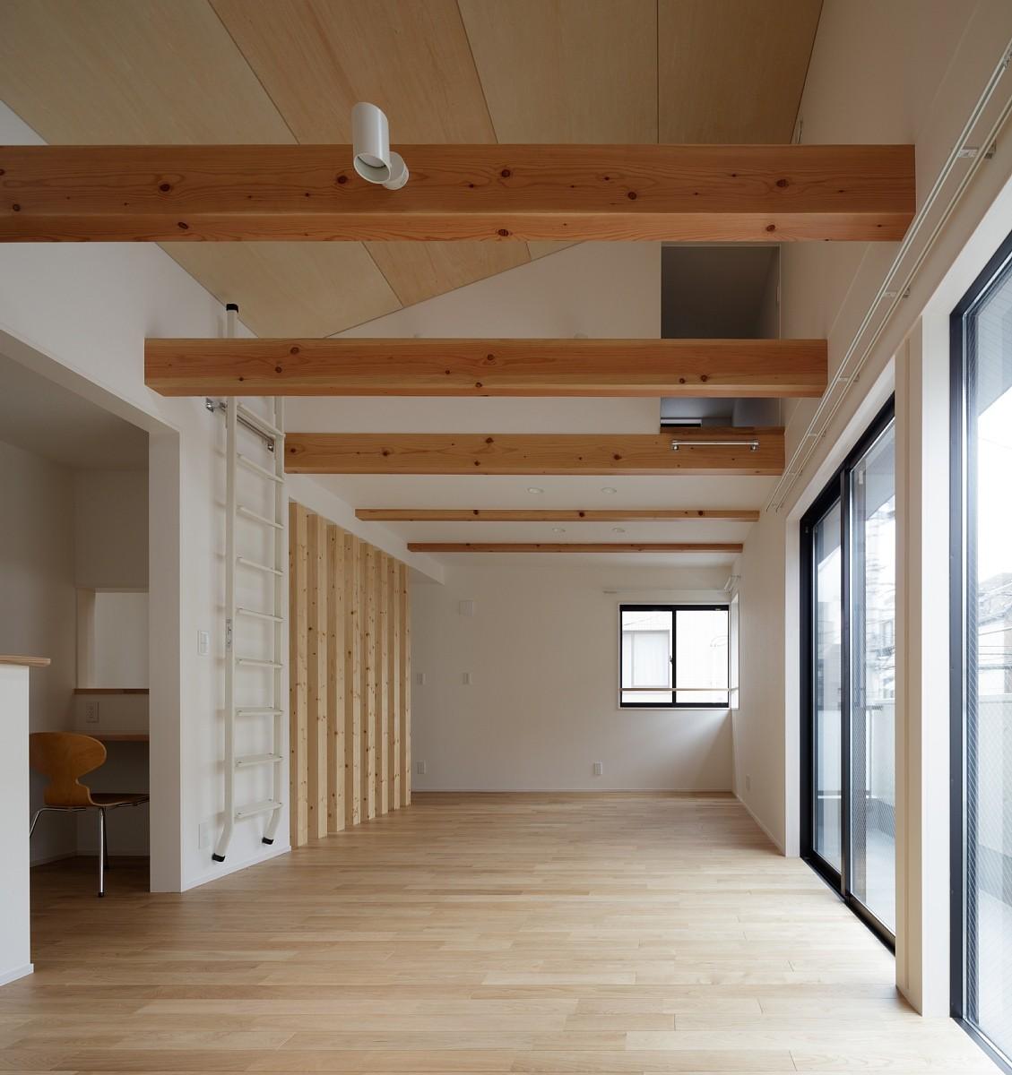 リビングダイニング事例:DK(小規模デザイナーズアパートメント|三茶の集住)