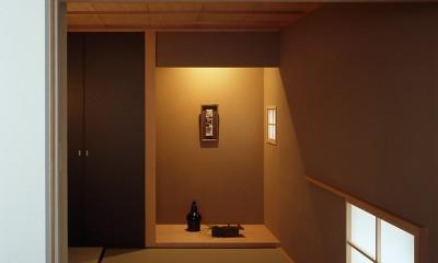神木本町の家 (和室)