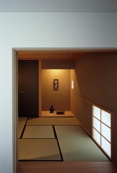 和室 (神木本町の家)