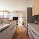 夕雲町の家-little forest-の写真 夕雲町の家 キッチン