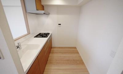マイナスイオンの壁 (キッチン)