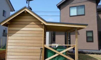 カンツリー倶楽部  「調整区域に建てた家」 (離れ+倉庫)