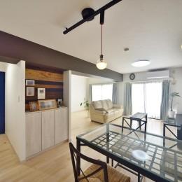 室内環境を整え、快適で広々としたリビングに (リビングダイニング)
