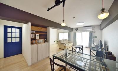 室内環境を整え、快適で広々としたリビングに