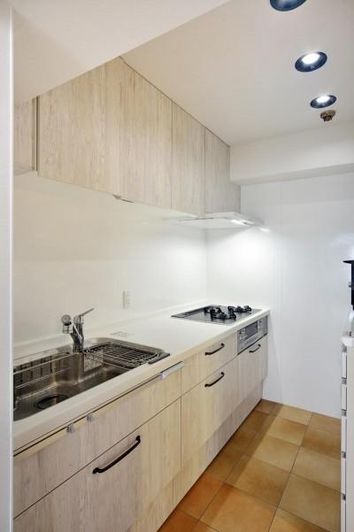 キッチン (室内環境を整え、快適で広々としたリビングに)