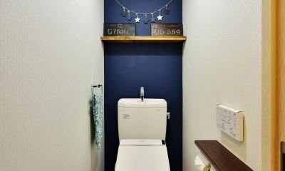 室内環境を整え、快適で広々としたリビングに (トイレ)