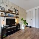 茅ヶ崎+インダストリアルの写真 ビンテージスタイルの寝室