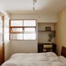 光と風の通り道の写真 寝室