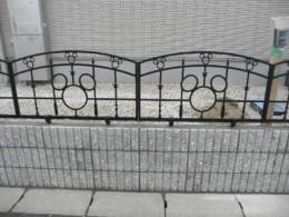 江南市 M様邸 外構工事 (ミッキーのフェンス)