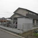 江南市 M様邸 外構工事の写真 カーポート・裏側から