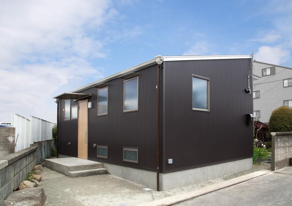 木造平屋建てバリアフリー住宅 (外観)
