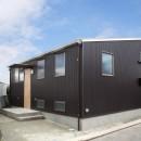 木造平屋建てバリアフリー住宅の写真 外観