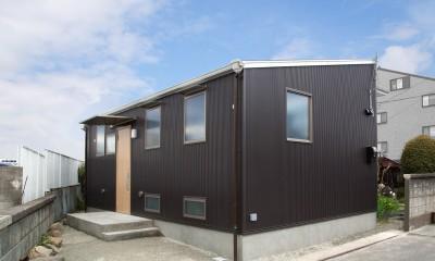 外観|木造平屋建てバリアフリー住宅