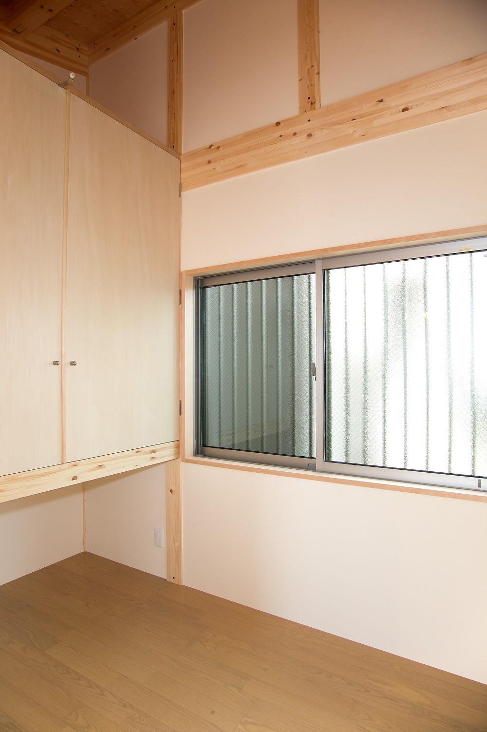 木造平屋建てバリアフリー住宅 (寝室)