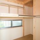 木造平屋建てバリアフリー住宅の写真 子供部屋