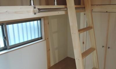 木造平屋建てバリアフリー住宅 (子供部屋)
