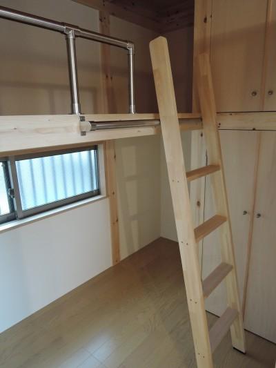 子供部屋 (木造平屋建てバリアフリー住宅)