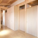 木造平屋建てバリアフリー住宅の写真 玄関ホール