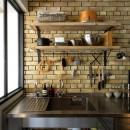 『SEASON』 ― 景色と暮らす、窓のイエの写真 キッチン