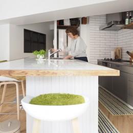 『amanchat』 ― パリのアパルトマン (キッチン)