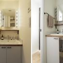 『amanchat』 ― パリのアパルトマンの写真 洗面室