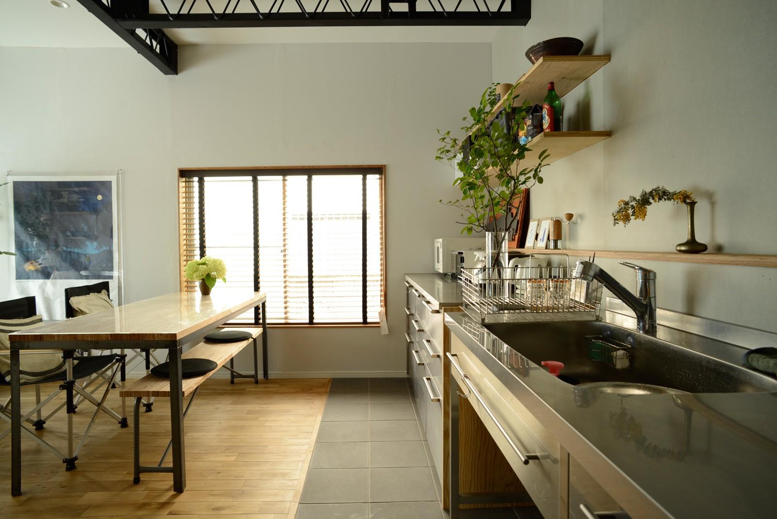 キッチン事例:キッチン(『世代を超えて』 ― 築古戸建に手間ひまかけて)